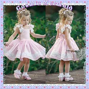 Other - 🆕 💖🌸Pink Princess Lace Ruffle Tutu Dress🌸💖
